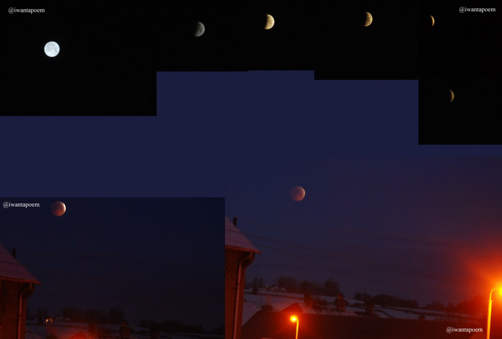 My views Of The Lunar Eclipse
