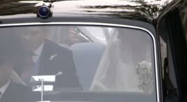 royal wedding first glimpse catherine middleton