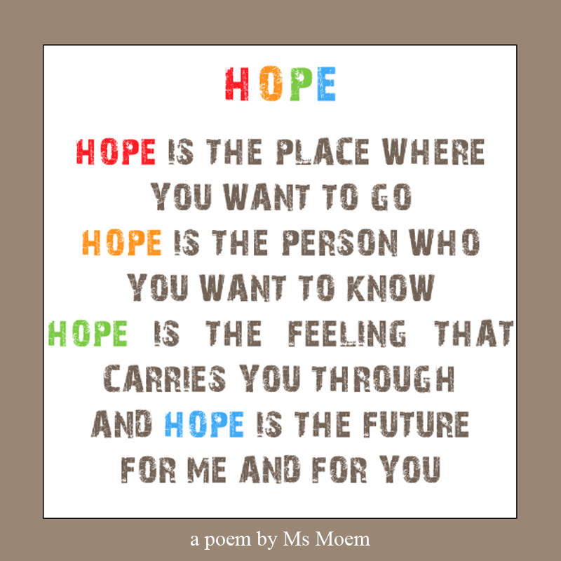 hope poem by ms moem