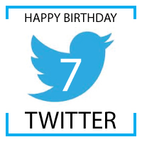 twitter is seven ~ happy birthday