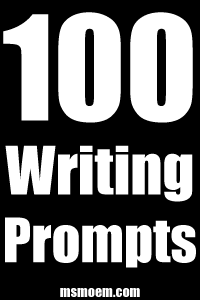 100 writing prompts for your inspiration