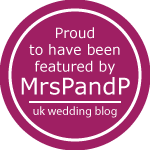 mrs p and p wedding blog