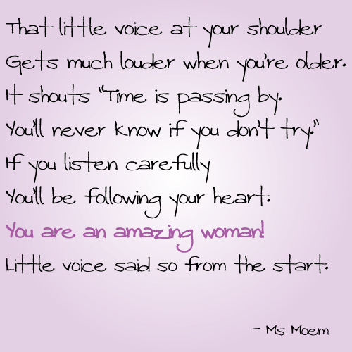 womens day little voice poem