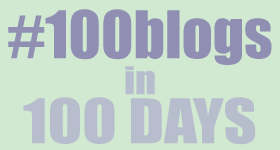 100 blogs in 100 days