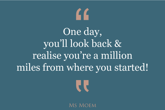 a million miles positive quote