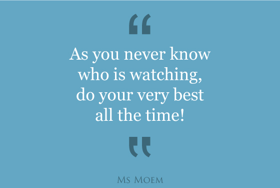 do your best all the time motivational quote