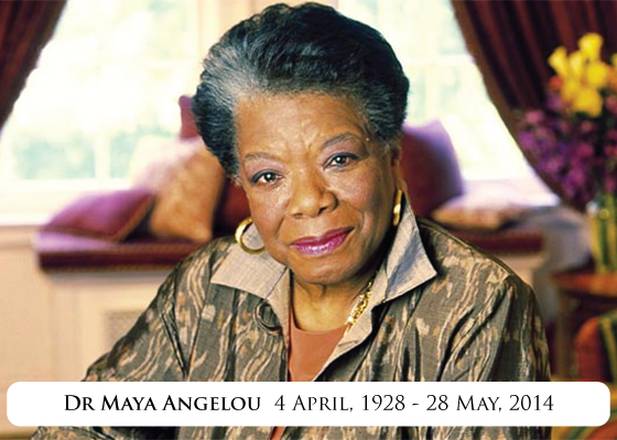 Maya Angelou Poem In Memory