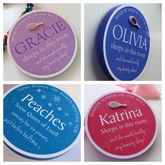 fun blue plaques from funblueplaques.com