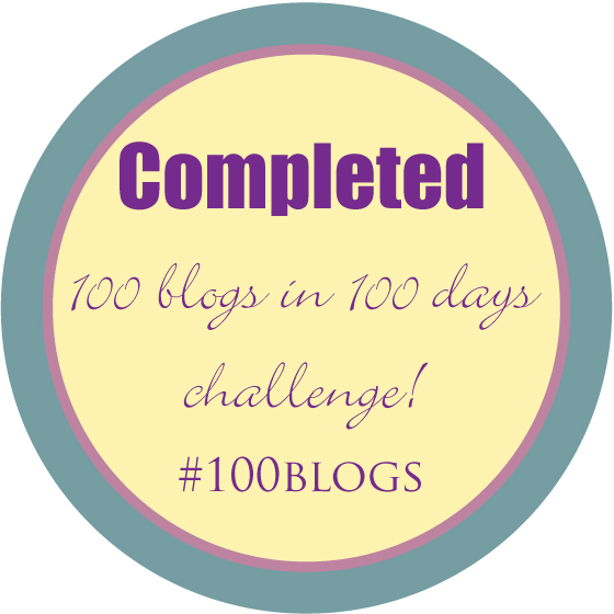 100 blogs 100 days #100blogs