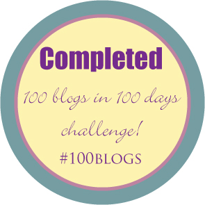 100 blogs challenge #100blogs done! | Ms Moem | msmoem.com