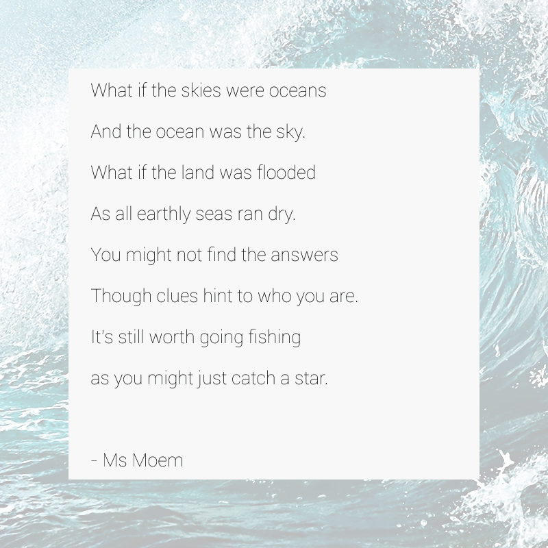 fishing for stars ~ a poem by Ms Moem