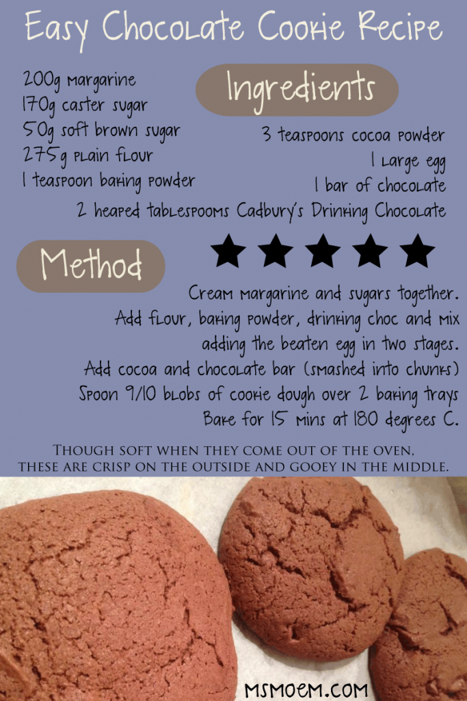 easy chocolate cookie recipe how to