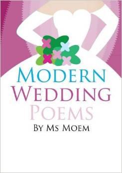 book of modern wedding poems by ms moem