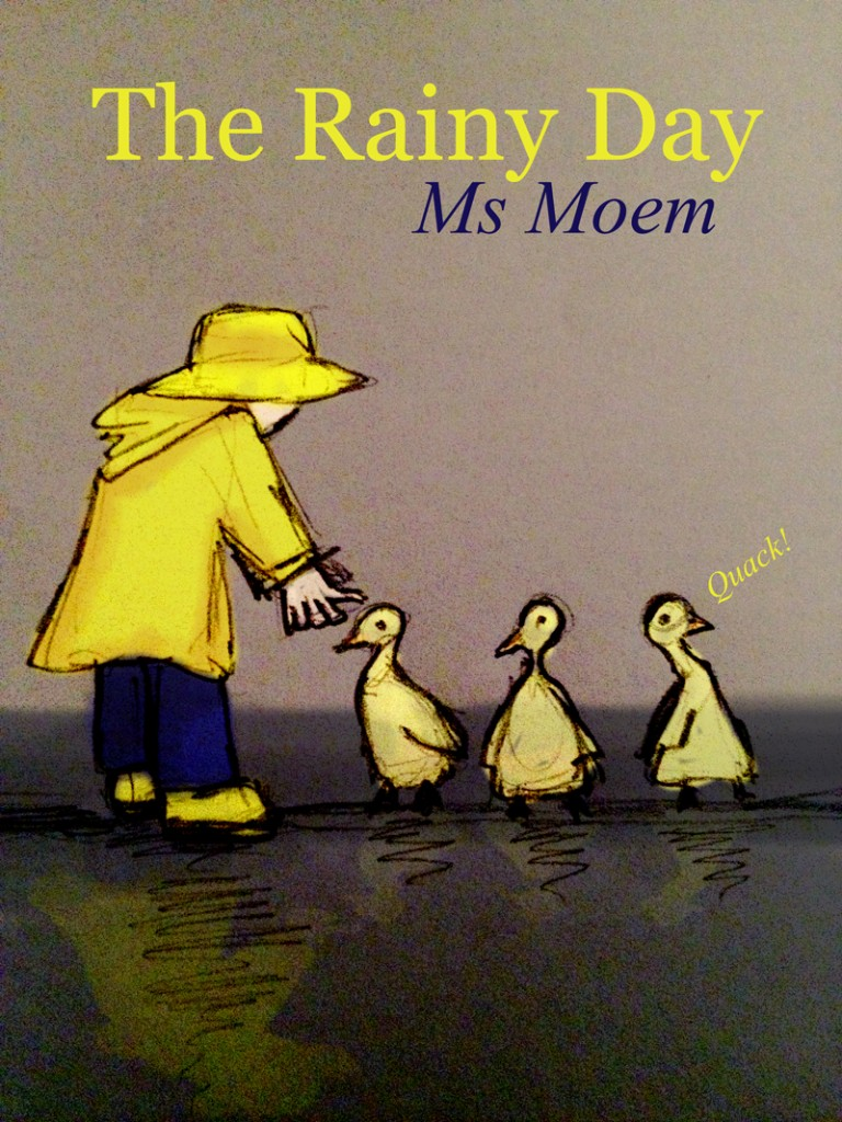 picture book illustration ~ the rainy day by Ms Moem @msmoem