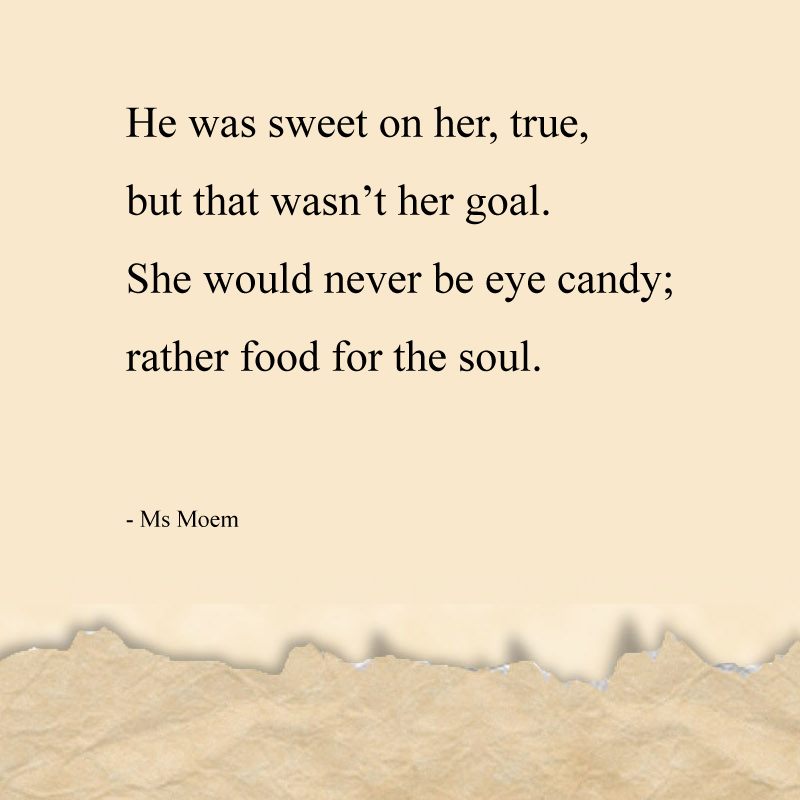 soul food poem quote by Ms Moem @msmoem