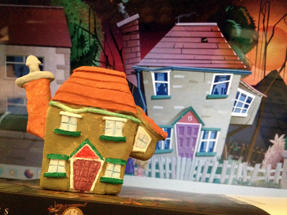 clay model based on an illustration by Tris Rossin ~ created for a picture book concept by Ms Moem