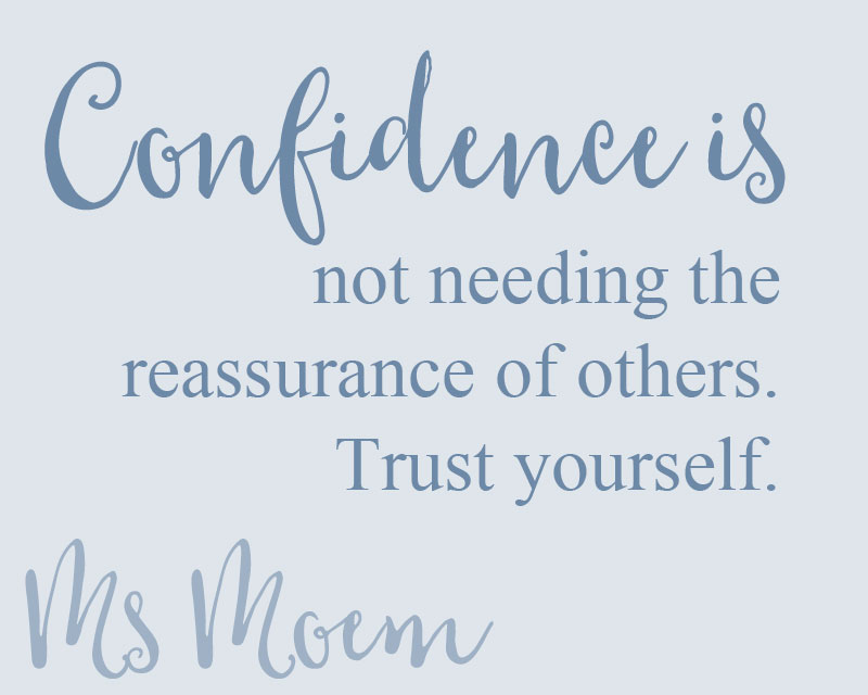 confidence is trusting yourself - confidence quotes