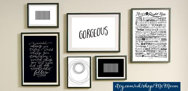 etsy entrepreneurship - Ms Moem poet, hand letterer, artist