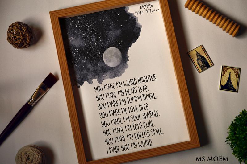 you make my world brighter poem