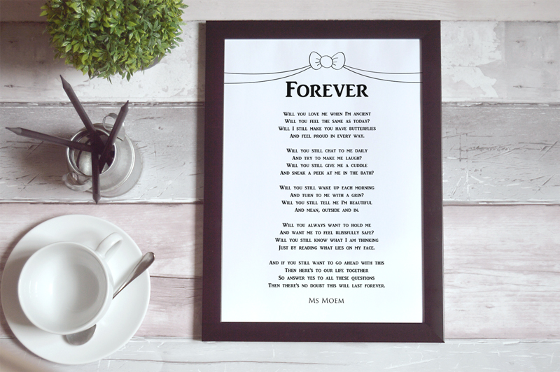 printable copies of my wedding poems - ms moem - http://www.msmoem.com
