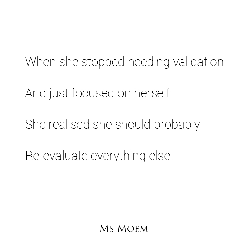 needless - a short poem by ms moem @msmoem