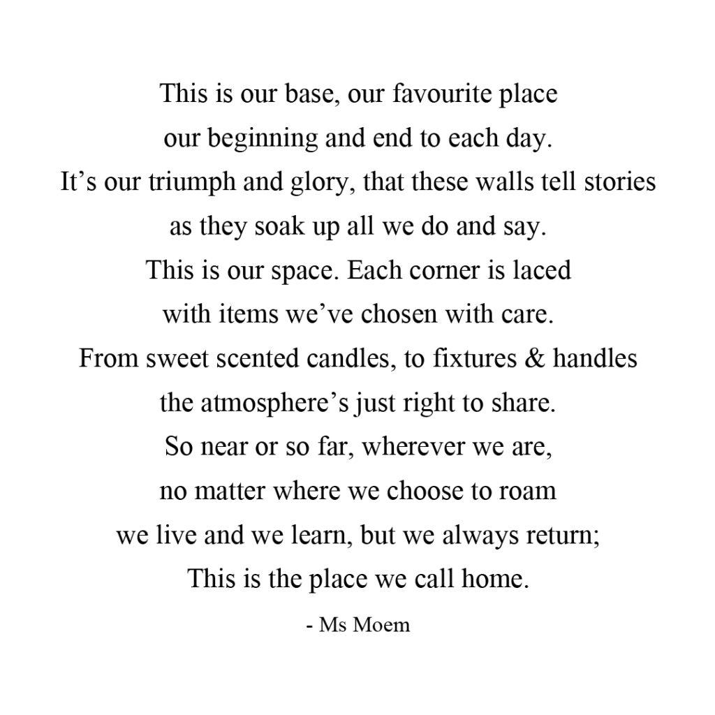 Home by Ms Moem