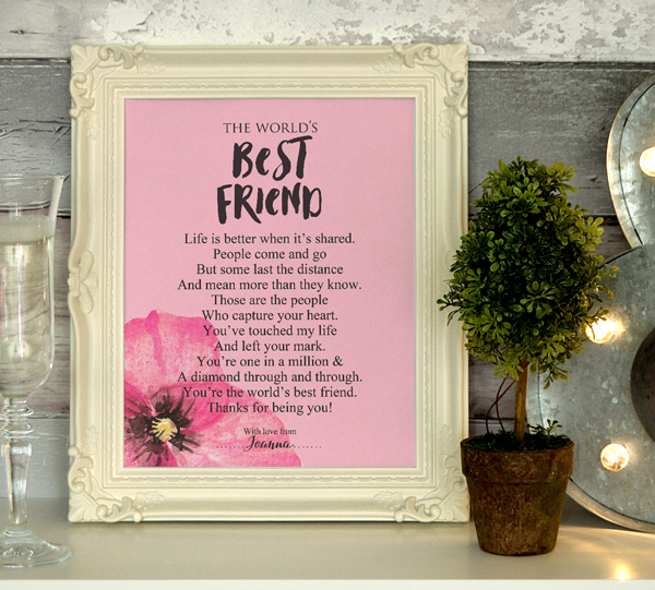 best friend friendship poem by english poet ms moem